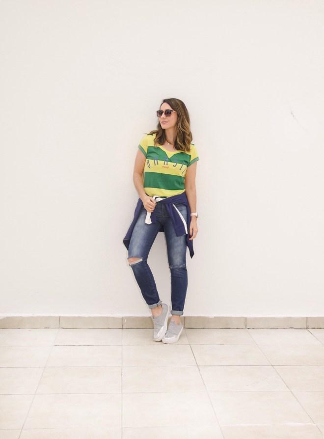 Look copa do mundo 2018 e dicas de onde comprar camiseta básica do Brasil