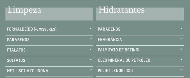 Cuidados com a pele com produtos sustentáveis e de origem vegetal
