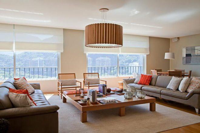 Como escolher o modelo de lustre perfeito para a sala de estar e jantar