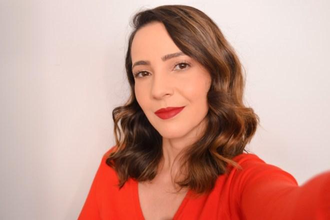 Tutorial de maquiagem fácil e iluminada para o Natal 2018
