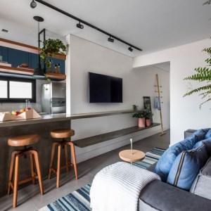 Como uma cozinha americana pode integrar os ambientes de sua casa
