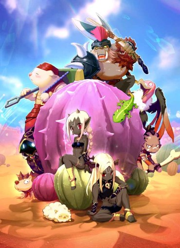 MMORPG Luna Plus Poster