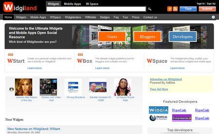 Widgiland, opciones para multitud de plataformas