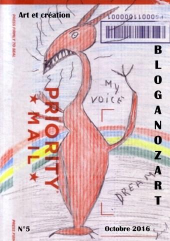Bloganozart n°5 (2016). Illustration de Samuel Leed