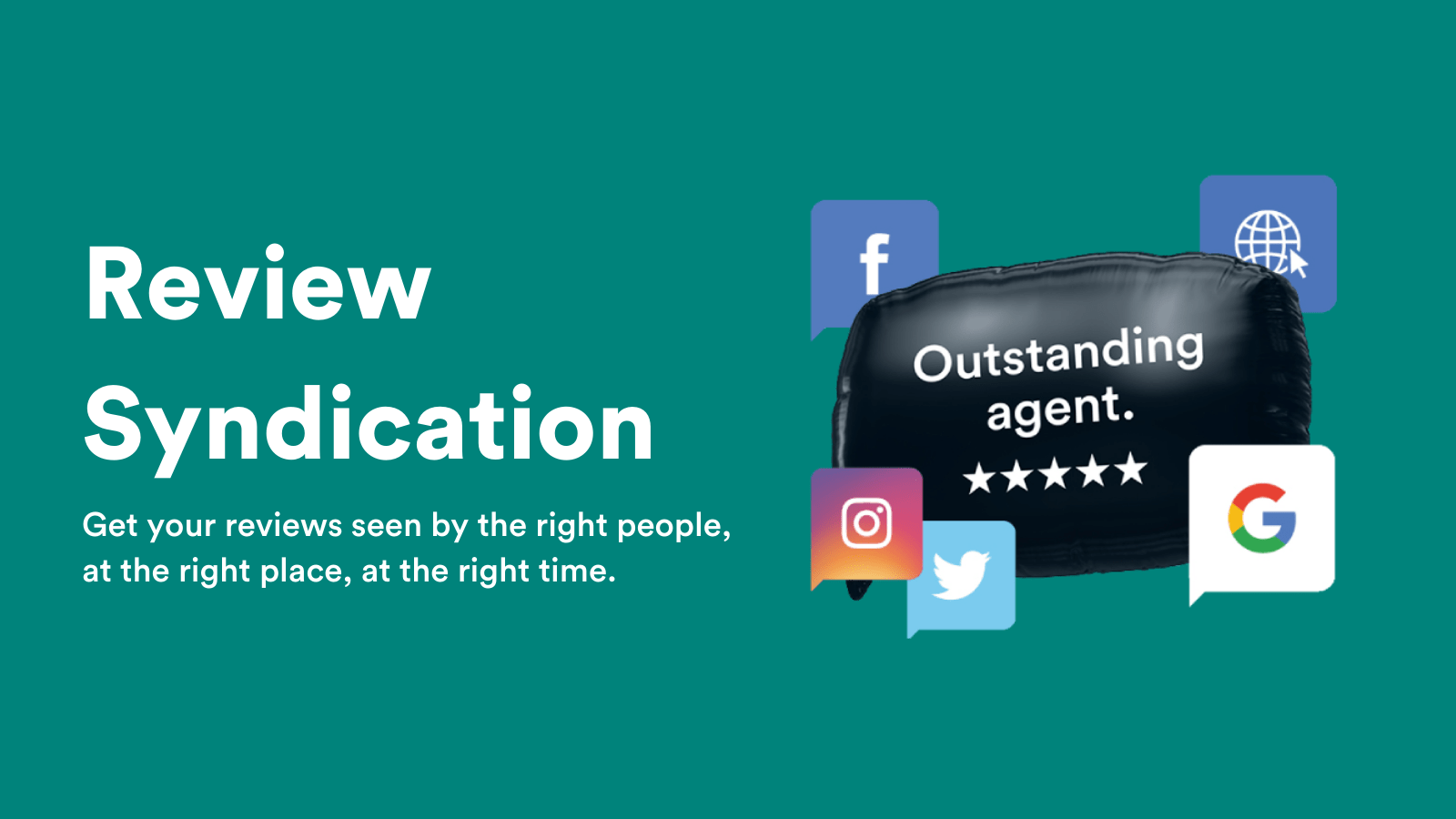Get your reviews seen by the right people, at the right place, at the right time