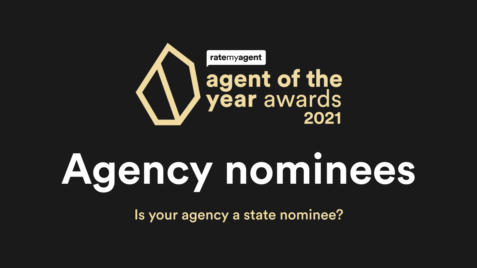 2021 Agency of the Year Nominees announced