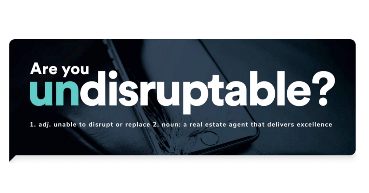Grateful for our Undisruptables