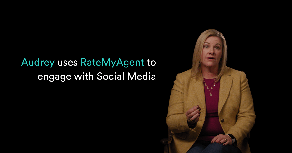 Audrey Wiggins uses RateMyAgent to engage with Social Media