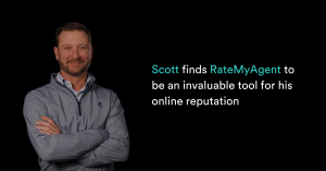 Scott finds RateMyAgent to be an invaluable tool for his online reputation