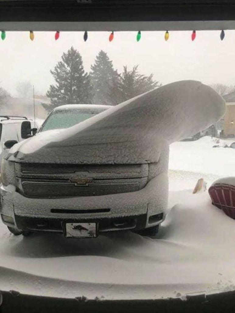 Kar Yagisi Sonrasi Medyana Gelen Ilginc Resimler 28