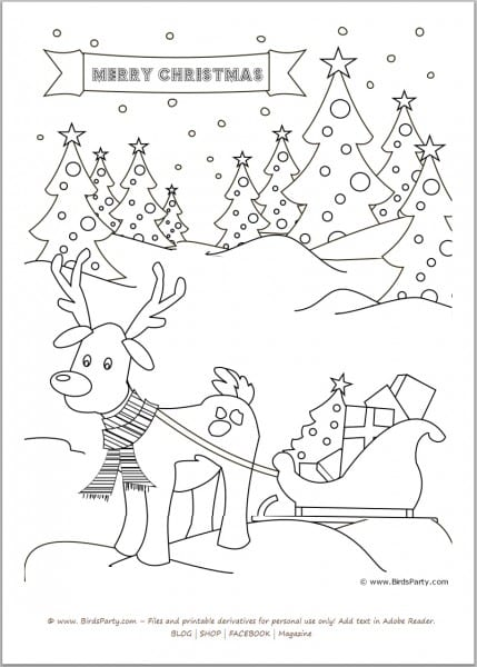 christmas for kids printable free coloring pages on masivy world ...