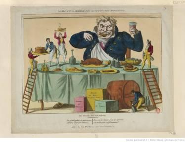 écrire repas et nourriture - gargantuesque
