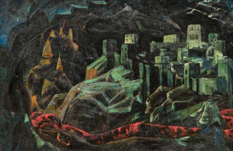 The Dead City, Roerich - Lovecraft et Grand Cthulhu