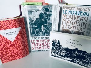 Lecture/Rencontres Nappes-mondes - Hubert Haddad
