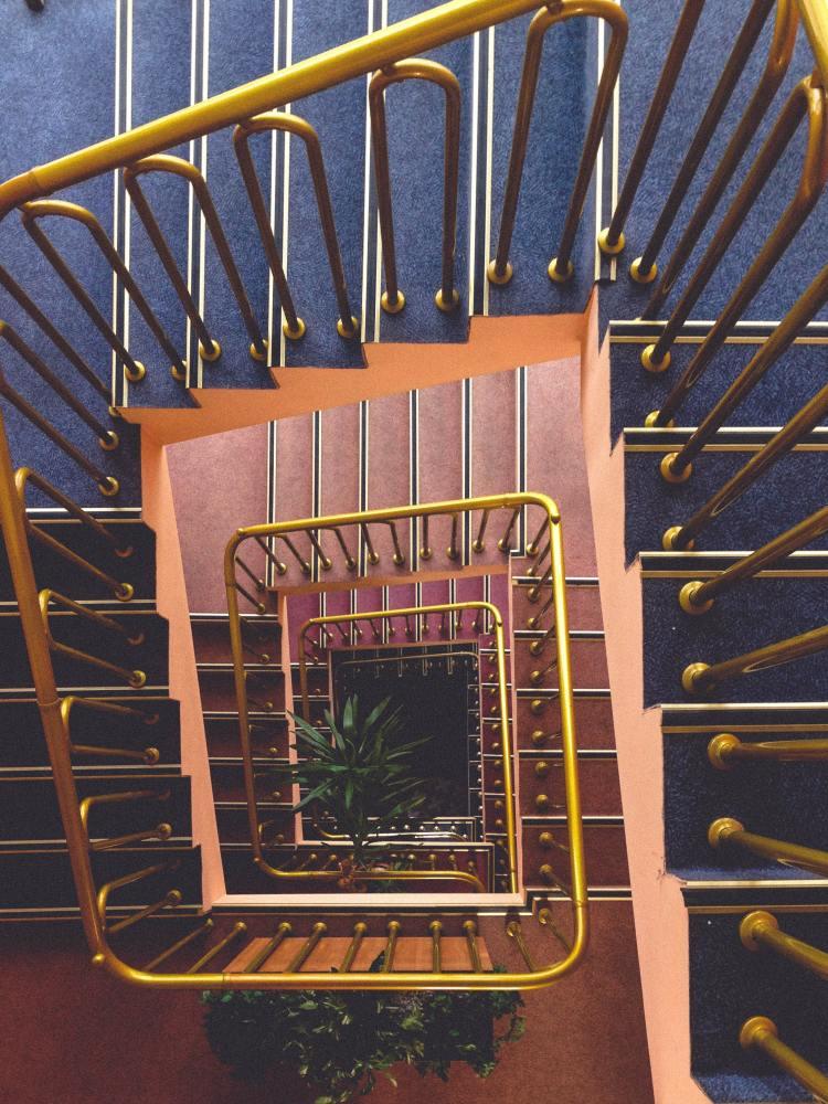 Les choses passées / futures - escaliers