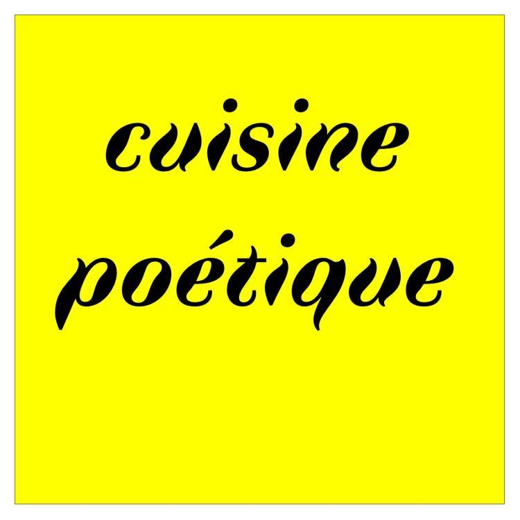 Cuisine poétique / visuel
