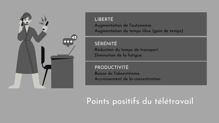 L'AVENIR DU TELETRAVAIL - Points-positifs