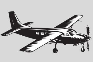Dernière frontière - avion
