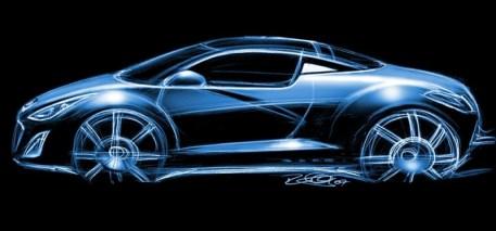 Peugeot-RCZ-sketch