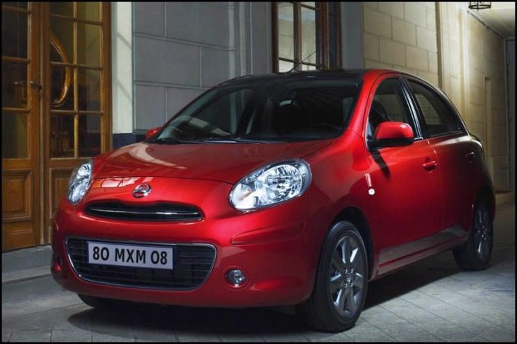 Nissan Micra K13 2010-