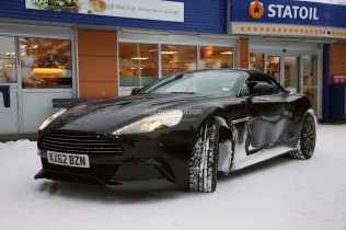 Aston Martin Vanquish Volante Tests Hiver 2013 (3)