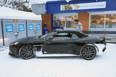 Aston Martin Vanquish Volante Tests Hiver 2013 (4)
