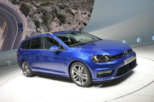 VW Golf Variant Concept R-Line