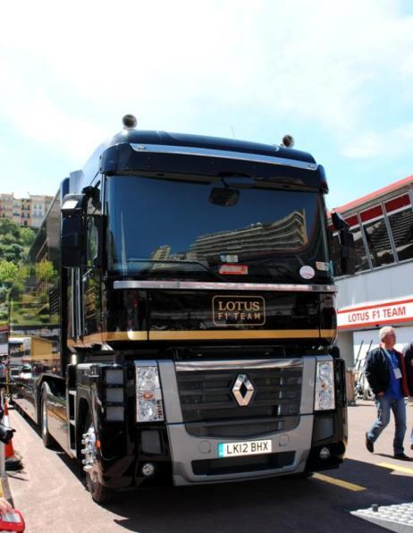 Camion Lotus Renault F1