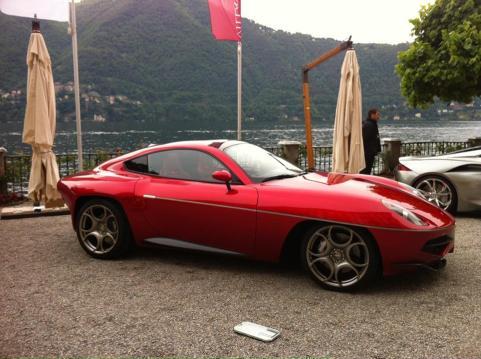 Alfa Romeo Disco Volante by Carrozzeria Touring