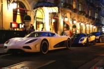 FJ et Koenigsegg