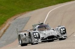 Porsche LMP1 en test à Weissach