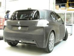 arrière 208 Hybrid FE