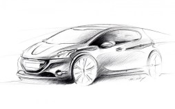 Sketchs Peugeot 208 (2)