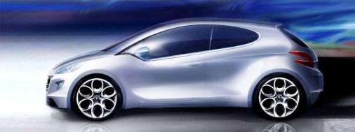 Sketchs Peugeot 208 (4)