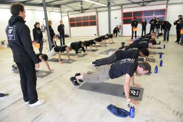 Epreuve physique gt academy
