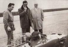 Ferrari Forghieri Ickx à Modène en 1967