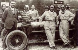 Ferrari et Nuvolari