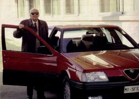 Ferrari et l'Alfa Romeo