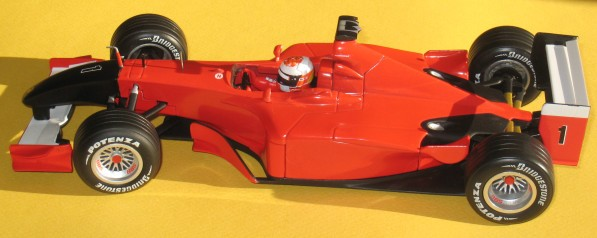 HotWheels F1 Monza 2001