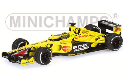 Jordan Trulli Indianapolis 2001