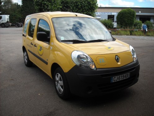 essai du renault kangoo z e la poste le postier lectrique blog automobile. Black Bedroom Furniture Sets. Home Design Ideas