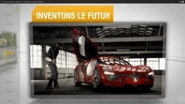 Renault 115 ans innovation