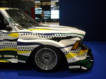 BMW Art Car Lichtenstein (1)
