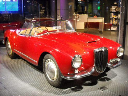 Lancia Aurelia B24 Spyder (14)