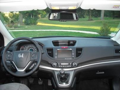 Tableau de bord Honda CR-V (1)