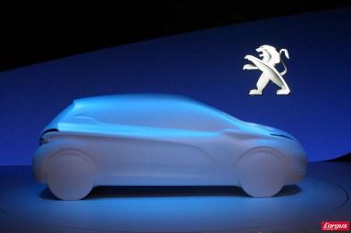Maquette Peugeot 208 Bruxelles