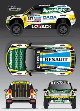 Renault Duster au Dakar