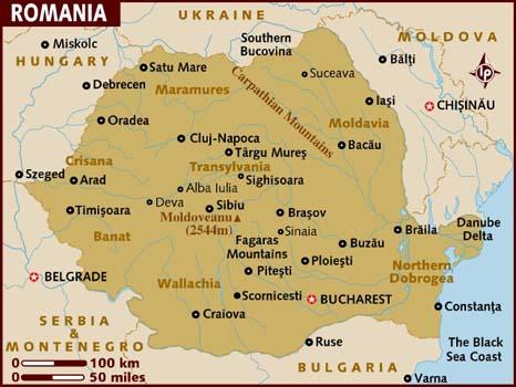 map_of_romania