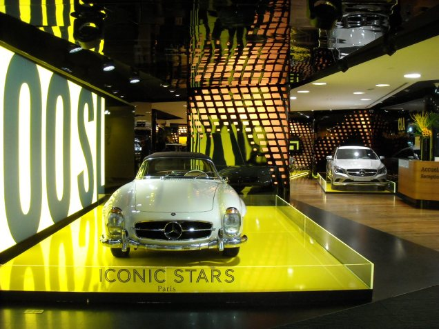 Iconic stars Mercedes Gallery