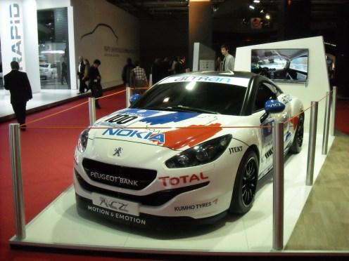 Mondial de l'Automobile 2012 Peugeot RCZ Nokia (2)